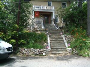 Custom Bluestone and Stone Staircase